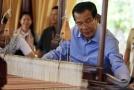 Kambodžský premiér Hun Sen.