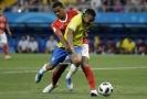Brazilským fotbalistům se nelíbila některá rozhodnutí sudích.