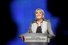 Šéfka francouzských nacionalistů Marine Le Penová.