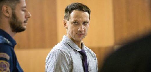 Obžalovaný Martin Chlouba.