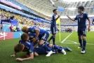 Japonci překvapivě porazili Kolumbii 2:1.