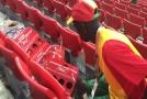 Fanoušci Senegalu předvedli po vítězném utkání s Polskem skvělé gesto.