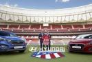 Hyundai uzavřel partnerství poprvé na španělském fotbalovém trhu.