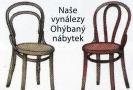 Nová známka s motivy ohýbaného nábytku.