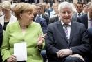 Angela Merkelová a ministr vnitra Horst Seehofer.
