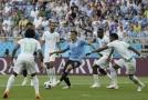 Uruguay se v dalším zápase skupiny A střetla se Saúdskou Arábií.
