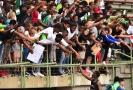 Nigerijští fanoušci.