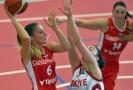 České basketbalistky uspěly i v dalším přípravném zápase, tentokrát porazily Turecko.