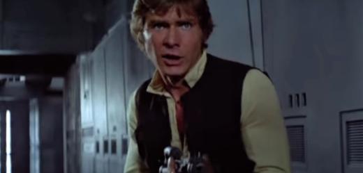 Han Solo (Harrison Ford).