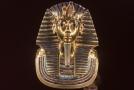 Soška Tutanchamona.