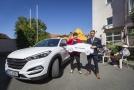 Hyundai předal SUV Tucson poskytovateli sociálních služeb Centrin CZ.