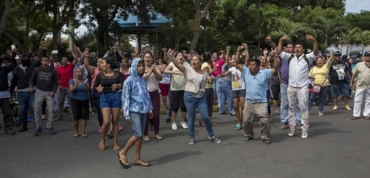 Nepokoje v Nikaragui.