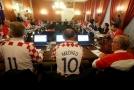 Chorvati prožívají fotbalové šílenství.