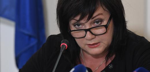 Šéfka české státní kasy Alena Schillerová.