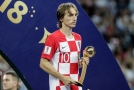 Luka Modrič s cenou pro nejlepšího hráče celého MS.