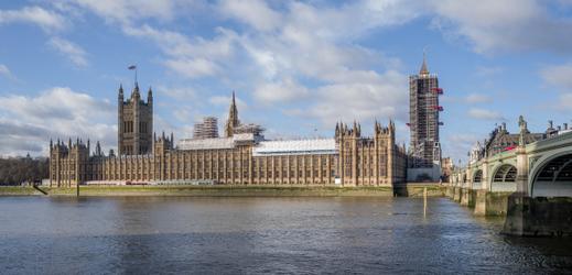 Westminsterský palác.
