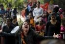 Ženy v ulicích Indie.