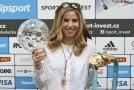 Olympijská hvězda Ester Ledecká získala další ocenění.