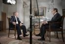 Ruský prezident Vladimir Putin v rozhovoru pro americkou televizní stanici Fox News.