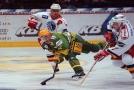 Bývalý hokejista Václav Burda (vlevo) zahynul při autonehodě.