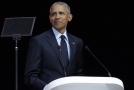 Obama hovořil při příležitosti stého výročí narození zesnulého jihoafrického bojovníka proti apartheidu a nositele Nobelovy ceny za mír Nelsona Mandely.