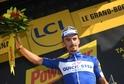 Vítěz další etapy Tour de France Francouz Alaphilippe.