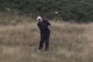 Trump si o víkendu zahrál golf ve skotském Turnberry.