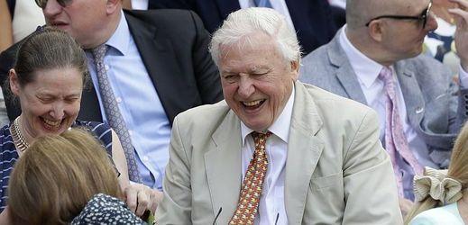 Britský přírodovědec a filmař David Attenborough.