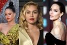 Rihanna, Miley Cyrus a Angelina Jolie.