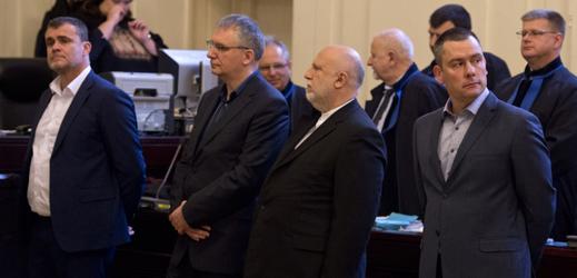 David Michal, Peter Kmeť, Radomír Kučera a Michal Urbánek.