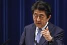 Předseda japonské vlády Šinzó Abe.
