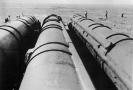 Sovětské rakety typu RSD 10 (SS 20) před likvidací.