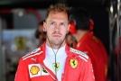 Sebastian Vettel při jednom z tréninků na VC Německa.