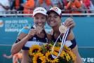 Hermannová a Sluková s bronzovými medailemi z ME.