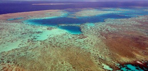 Velký bariérový útes, Austrálie.