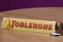 Oblíbená čokoládová tyčinka Toblerone.