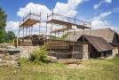 Skanzen v Chanovicích na Klatovsku rekonstruuje starý špýchar z Petrovic u Sušice.