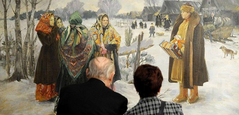 V Ostrave Vystavi Ruske Obrazy A Kresby Z 19 A 20 Stoleti Tyden Cz