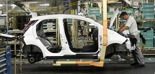 Výrobní linka automobilky Toyota Peugeot Citroën Automobile. (ilustrační foto).