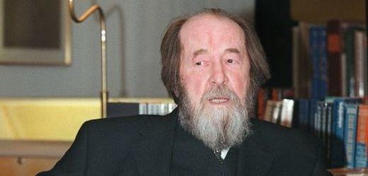 Slavný ruský spisovatel Alexandr Solženicyn.