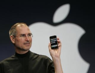 Zakladatel Applu Steve Jobs.
