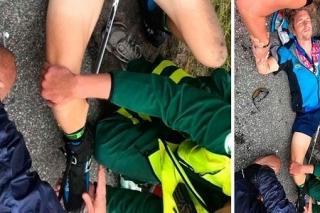Olympijský vítěz v biatlonu Pepe Fremling si přivodil kuriózní zranění.