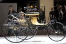Automobil německého vynálezce Carla Benze z roku 1886.