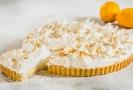 Francouzský citrónový koláč.