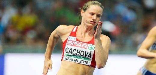 Bojovnice Kateřina Cachová se posunula na pátou příčku.