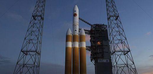 Parkerovu sluneční sondu vynese do vesmíru raketa Delta IV Heavy.