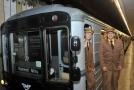Historická souprava pražského metra typ 81-71.