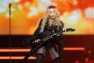 Madonna během koncertu v Praze v roce 2015.
