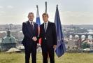 Slovenský premiér Peter Pellegrini (vlevo) a jeho český protějšek Andrej Babiš.