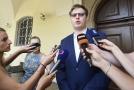 Předseda sněmovní komise k privatizaci těžební společnosti OKD Lukáš Černohorský (Piráti).